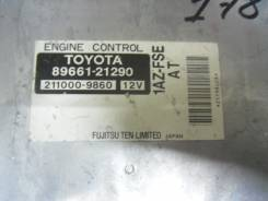 Блок управления двс. Toyota Caldina, AZT241 Двигатель 1AZFSE