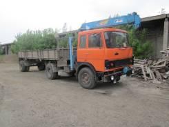 МАЗ 54329. Продаёться грузовик МАЗ с полуприцепом и краном манипулятором, 238 куб. см., 3 000 кг., 14 м.