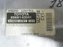Блок управления двс. Toyota Opa, ACT10 Двигатель 1AZFSE
