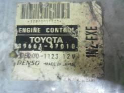 Блок управления двс. Toyota Prius, NHW10 Двигатель 1NZFXE