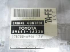 Блок управления двс. Toyota Sprinter Carib, AE115 Двигатель 7AFE