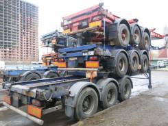Dennison. Полуприцеп контейнеровоз 2003, 33 900 кг.