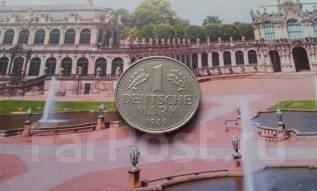 ФРГ. 1 марка 1989 года. D.