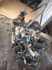 Двигатель. Isuzu Bighorn, UBS25DW Двигатель 6VD1