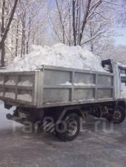 Уборка снега. Вывоз снега! Самосвалы грузчики