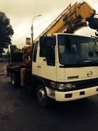 Hino Ranger. Продается автобуровая , 7 961 куб. см., 3 000 кг.