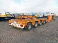 Broshuis. Трал низкорамный Brochuis, 58 т, 58 330 кг. Под заказ