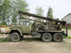 ЗИЛ 131. Буровая машина МРК-750 /