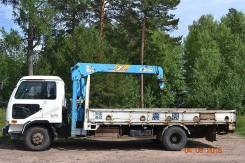 Nissan Diesel UD. Продам эвакуатор, кран-борт в Братске, 7 000 куб. см., 5 000 кг.