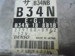 Блок управления двс. Mazda Ford Festiva Mini Wagon, DW5WF, DW3WF Mazda Demio, DW3W, DW5W