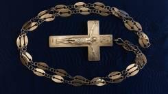 Наградной наперсный павловский крест. Москва, 1907-1917 гг. Оригинал