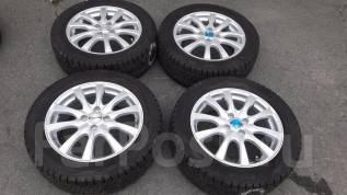 Новые колеса R16 на Fielder, Axio с зимней резиной без износа. 6.0x16 4x100.00 ET50 ЦО 73,0мм.