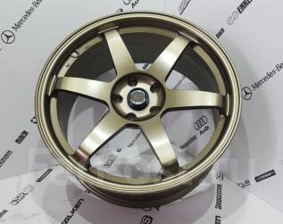 RAYS VOLK RACING. 8.5x19, 5x114.30, ET35, ЦО 67,1мм.
