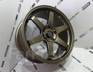 RAYS VOLK RACING. 8.0x18, 5x114.30, ET38, ЦО 73,1мм.