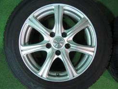Т Отличный комплект литых дисков R16. Только из Японии. 6.5x16, 5x114.30, ET42, ЦО 72,0мм.