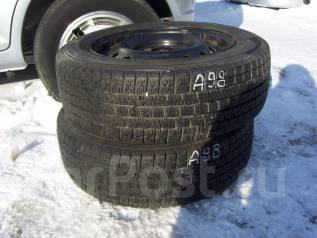 Пара зимних шин с дисками 185/65 R-15. x15 5x114.30 ЦО 63,0мм.