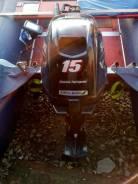 Suzuki. 15,00л.с., 4х тактный, бензин, нога S (381 мм), Год: 2012 год