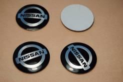 "Заглушки на колпачки,4 шт.! 56 mm. плоские. Nissan! В наличии!. Диаметр Диаметр: 16"", 1 шт."