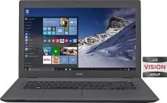 "Acer Aspire E5. 17.3"", 2,2ГГц, ОЗУ 8192 МБ и больше, диск 1 000 Гб, WiFi, Bluetooth, аккумулятор на 4 ч."