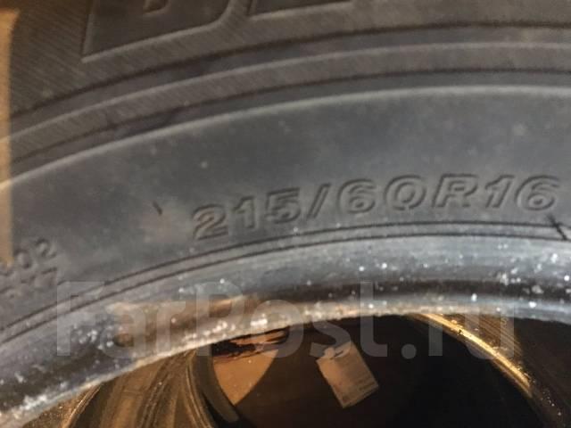 Bridgestone Blizzak VRX. Зимние, без шипов, 2013 год, износ: 80%, 4 шт