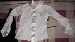 Рубашки школьные. Рост: 110-116 см