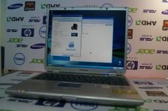"""Samsung. 14"""", 1,6ГГц, ОЗУ 512 Мб, диск 80 Гб, WiFi, Bluetooth, аккумулятор на 1 ч."""