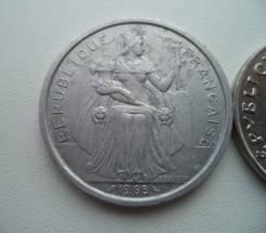 Французская Полинезия, 5 франков 1965