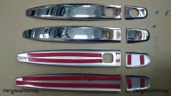 Накладка на ручки дверей. Toyota Land Cruiser Prado, TRJ125, RZJ120, LJ125, KDJ125, GRJ120, TRJ120W, KZJ120, KDJ121, RZJ125, VZJ120, RZJ120W, KDJ120W...