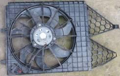 Мотор вентилятора охлаждения. Skoda Fabia