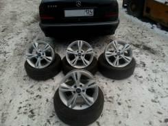 Продам колеса Ford Focus 3+летняя резина Nokian Nordman SX. 7.0x16 5x108.00 ET-50 ЦО 63,3мм.
