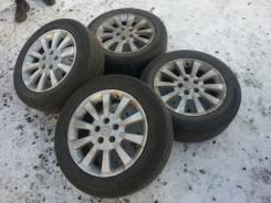 Продам колеса от Nissan X-Trail Axis Autech+Dunlop SP Sport LM 703. 6.5x16 5x114.30 ET-40 ЦО 66,1мм.