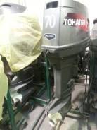 Tohatsu. 70,00л.с., 2х тактный, бензин, нога L (508 мм), Год: 2005 год