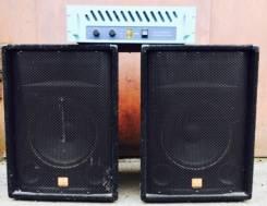 Мощная акустика для праздников и дома с усилителем