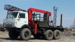 Камаз 4310. Обмен! Камаз Лесовоз с манипулятором и с прицепом, есть тахограф., 10 000 куб. см., 10 000 кг.