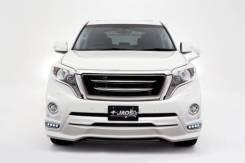 Решетка радиатора. Toyota Land Cruiser Prado, GDJ150W, GDJ151W, TRJ150, GRJ150W, GRJ151W, GDJ150L, GRJ151, GRJ150, GRJ150L Двигатели: 1GRFE, 1GDFTV, 2...