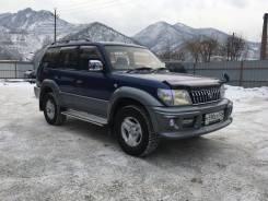 Toyota Land Cruiser Prado. механика, 4wd, 3.0 (170 л.с.), дизель, 156 тыс. км