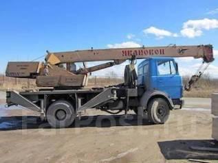 МАЗ Ивановец. Автокран 14 т Ивановец / МАЗ + установка