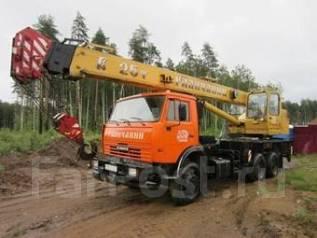 Галичанин КС-55713-1. Автокран КамАз / Галичанин 25 т., 25 000 кг., 21 м.