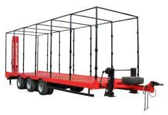 ПромАгроПрицеп 9835-73. Прицеп для перевозки техники до 25 тонн модель 9835-73, 25 000кг. Под заказ