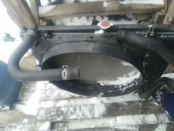 Радиатор охлаждения двигателя. Mitsubishi Montero, V75W Двигатель 6G74