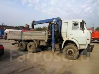 Камаз 53215. Манипулятор Tadano 504 / КамАЗ 53215, 2 400 куб. см., 10 000 кг.