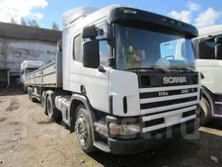 Scania. Седельный тягач 114, 3 400 куб. см., 19 300 кг.