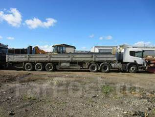 МАЗ МТМ. Полуприцеп бортовой МТМ-933, 26 000 кг.