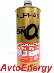 Alpha's. Вязкость 5W-30, синтетическое