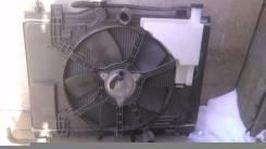 Радиатор охлаждения двигателя. Nissan Tiida, C11 Двигатель HR15DE