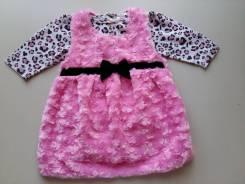 Боди-платья. Рост: 68-74, 74-80 см