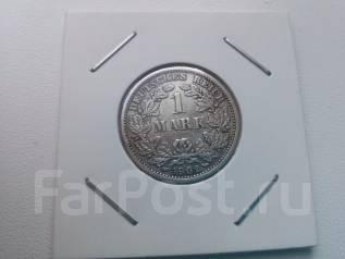 Германия. Серебро. 1 марка 1902D.