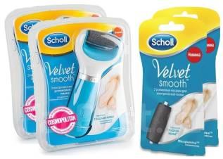Электрическая пилка Scholl с USB-кабелем по супер цене!