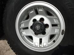 Toyota Land Cruiser Prado. 7.0x15, 3x98.00, 6x139.70, ET-20, ЦО 100,0мм.