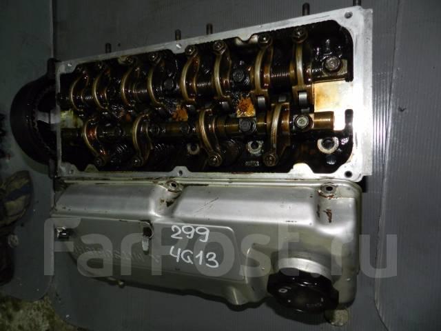 Головка блока цилиндров. Mitsubishi Lancer, CA1A, CB1A Mitsubishi Libero, CD2V, CB2V, CB1V, CB2W Mitsubishi Mirage, CB1A, CA1A Двигатели: 4G13, 4G15
